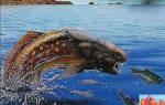 Фауна силурийского периода. Панцирные рыбы