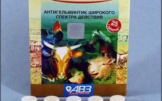 Альбен: инструкция по применению для животных