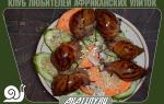 Как кормить улиток Ахатин