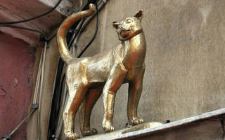 Памятники котам и кошкам Часть первая