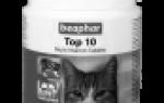 Список лучших витаминных комплексов для котят